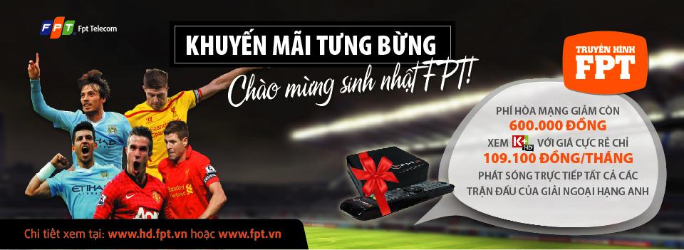 FPT Play HD tưng bừng khuyến mãi